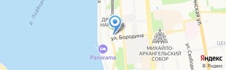 Адмирал Бенбоу на карте Ижевска