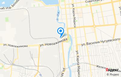 Местоположение на карте пункта техосмотра по адресу г Ижевск, ул Новоажимова, д 2/1