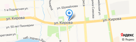 Детская школа искусств №11 на карте Ижевска