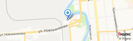 Форт-Баркос на карте Ижевска