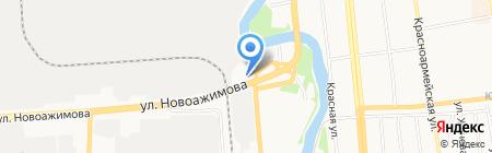 ВДМС на карте Ижевска