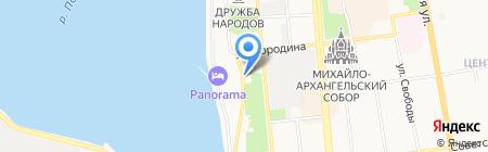Ремедиум на карте Ижевска