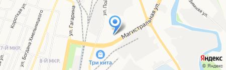 Молтранс на карте Ижевска
