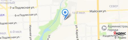 Промподшипник на карте Ижевска