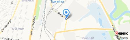 Оптовая компания на карте Ижевска