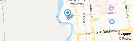 Мастер А на карте Ижевска