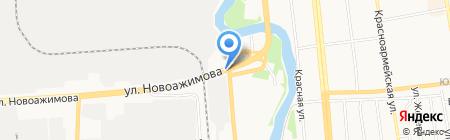 Авто-Бум на карте Ижевска