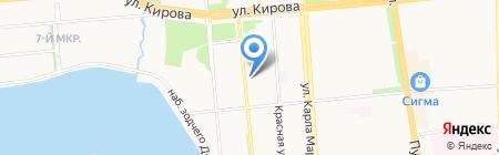 Супер Марка на карте Ижевска