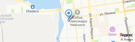 ЦентрУчСнаб на карте Ижевска