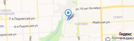 Техно на карте Ижевска