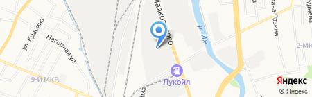 АвтоМаркет на карте Ижевска