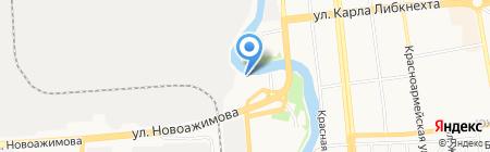 МирАвто на карте Ижевска