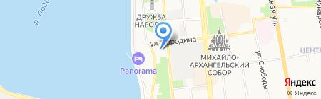Сайгас на карте Ижевска