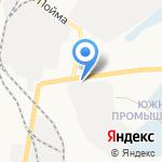 Медведево на карте Ижевска