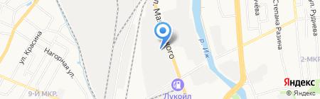 Газснаб на карте Ижевска