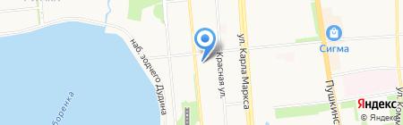 Момент-финанс на карте Ижевска