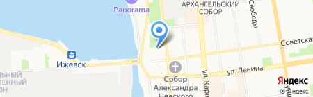 ЭкоФундамент компания по производству на карте Ижевска