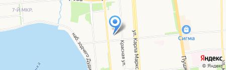 Derufa на карте Ижевска