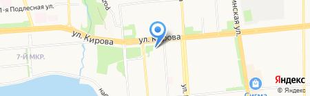 Нотариус Чулкина М.Б. на карте Ижевска