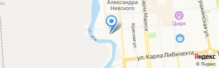 Ижкабель на карте Ижевска