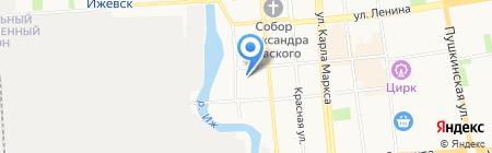 Антарис+ на карте Ижевска