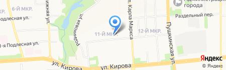 Комильфо на карте Ижевска