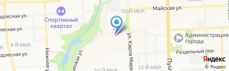 Загляни на карте Ижевска
