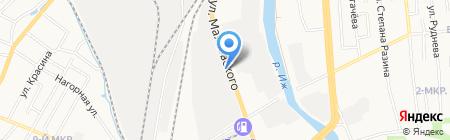 Предприятие Гальваник на карте Ижевска