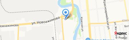 Плаза18 на карте Ижевска