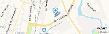 Агровод на карте Ижевска