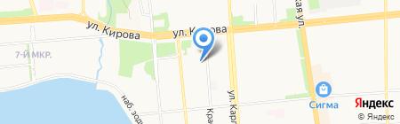 Электрик Ижевск на карте Ижевска