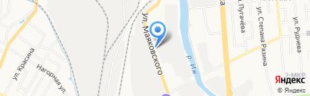 Любавушка на карте Ижевска