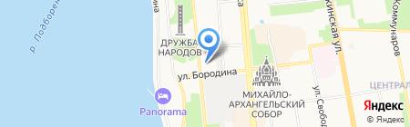 Овация на карте Ижевска