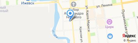 СекретСервис на карте Ижевска