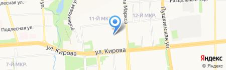 Виктория на карте Ижевска