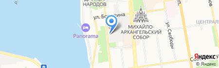 Аксион на карте Ижевска