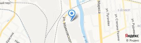 Партия Мебели на карте Ижевска