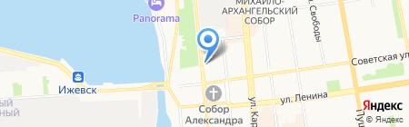 Связной на карте Ижевска
