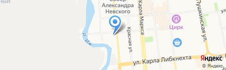 Старик Хоттабыч на карте Ижевска