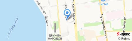 Brea на карте Ижевска