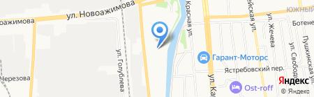 Камилла на карте Ижевска