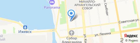 Адвокатский кабинет Соковикова Е.Н. на карте Ижевска