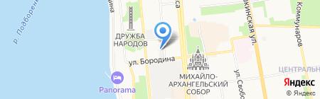 Лидер на карте Ижевска