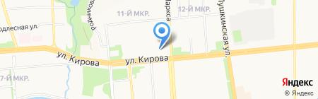 Почта России на карте Ижевска