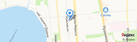 Республиканская детская школа искусств на карте Ижевска