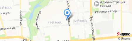Аптека на карте Ижевска