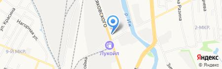 Хлопок на карте Ижевска