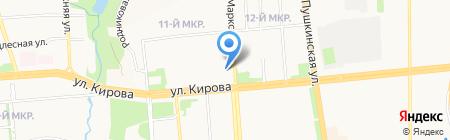 Левша на карте Ижевска