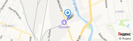 ИжСпецКонтракт на карте Ижевска