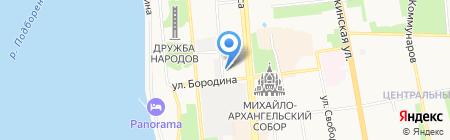 Банзай на карте Ижевска